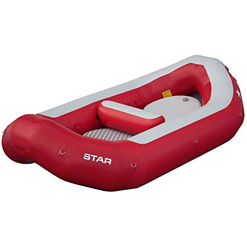 NRS Star High Five Self-Bailing Raft, Red, 9 Feet 10 Inch, 86223.01.101