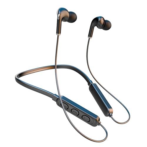 Auriculares Inalámbricos, Auriculares Deportivos Bluetooth 5.1 Mini Cascos In-Ear IPX7 Impermeable, Control Tactil, para Samsung/Huawei/Xiaomi