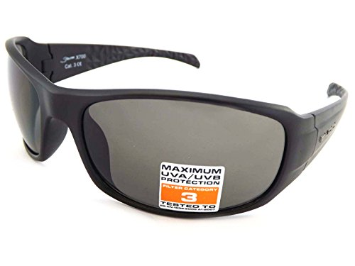 Bloc Eyewear Unisex STORM Sonnenbrille, Schwarz, Einheitsgröße
