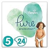 Pampers - Pañales de protección Pure Size 5, 11 + kg – 830 g