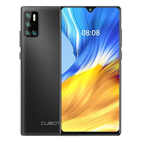 CUBOT J9 Smartphone Quad Fotocamera 6.2 Pollici 4200mAh Andorid 10 2GB RAM 16GB ROM FACE ID Dual SIM GPS 3G Cellulare Nero