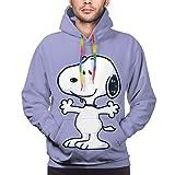 Sudadera con capucha unisex con diseño de anime de Snoopy con estampado 3D en todo el mundo, ligera, para hombre y mujer.