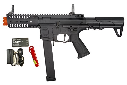 G&G CM16 ARP9 CQB 6mm AEG Airsoft LiPo Battery & Charger Combo w/MOSFET