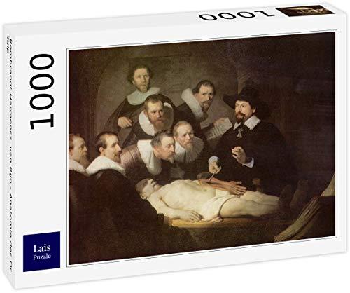 Lais Puzzle Rembrandt Harmensz. Van Rijn - Anatomía del Dr. Tulp 1000 Piezas