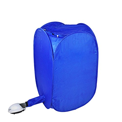 Thee - Mini asciugatrice portatile elettrica per vestiti. blu