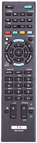 Universal Remote Control for Sony Bravia Smart LCD LED 3D TV Remote RM-ED047 Compatible with All Sony TV Remote