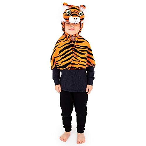Enfants Bambins Tiger Cap Costume de déguisement 3-6 ans [Jouet]