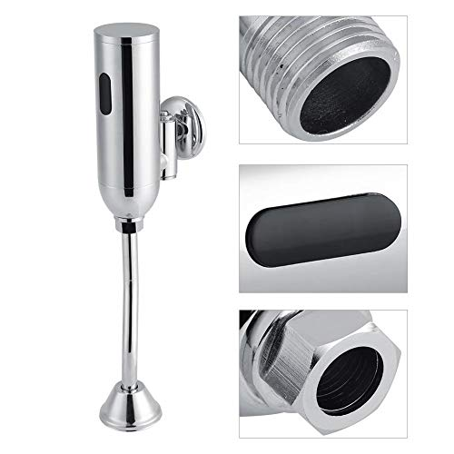 Urinalspülsystem Ventil - automatische Spülung Sensor Messing Wand befestigtes Badezimmer intelligente automatischer Sensor WC Urinal SpÙlventil