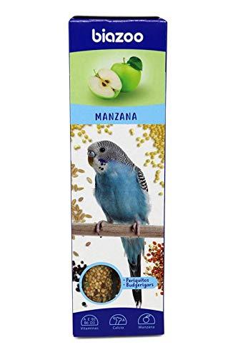 biozoo - Barritas de Manzana para Periquitos - Pack 5 Unidades