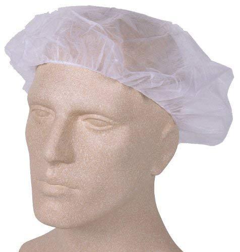 Med-Comfort Med-Comfort Baretthaube - Einweg-Kopfschutz - weiß - 100 Stück