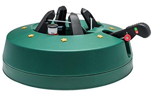 Star-Max Modell 2018 Christbaumständer by F-H-S, Model Start 2, für Baumhöhe bis 2,5 m, Weihnachtsbaumständer mit Fuhebelfunktion und Einseiltechnik, 2,5 Liter Wassertank, 2.5 liters, Grün, 2,5 L