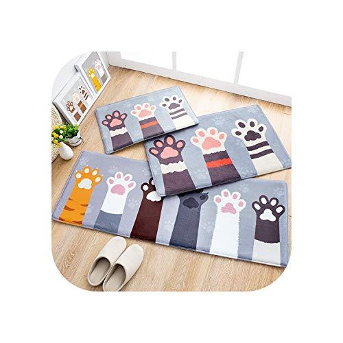 Fairy-Margot Schicker Teppich |Cartoon Plüsch Türmatte Fußmatten Flanell Outdoor Home Lange Matte Schlafzimmer rutschfeste Küche Teppich Teppich Badezimmer Boden Pad-Style 1-45x160cm