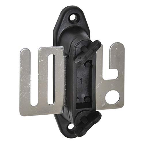 Set 4x Aisladores de cinta conductora-puerta + 4x platos metálicos para cierre de circuito