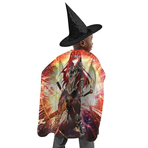 CrazyCoolArt - Juego de disfraces para Halloween, diseo de bruja, color escarlata, diseo de bruja
