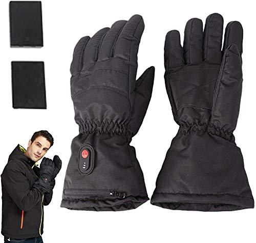 N\A Beheizte Handschuhe Winter Thermal Handschuhe Beheizte Handschuhe Handschuhe Handwärmer, 3 Stufen der Temperaturregelung, for Motorrad, Arbeiten, Wandern, Skifahren, Jagen