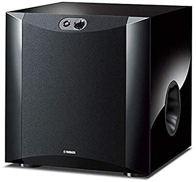 Yamaha NS-SW300 Front Firing Subwoofer with Patented Twisted Flare Port Bass Reflex Tube from Yamaha