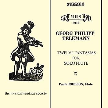 Telemann: 12 Fantasias for Solo Flute, TWV 40:2-13