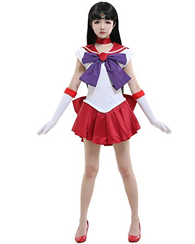 miccostumes Women's Rei Cosplay Costume Extra Large White and Red