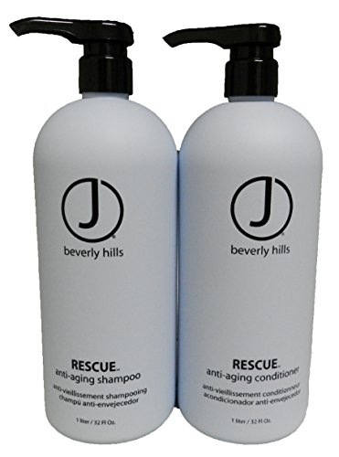 J Beverly Hills DUO Rescue Shampoo 32oz and Conditioner 32oz