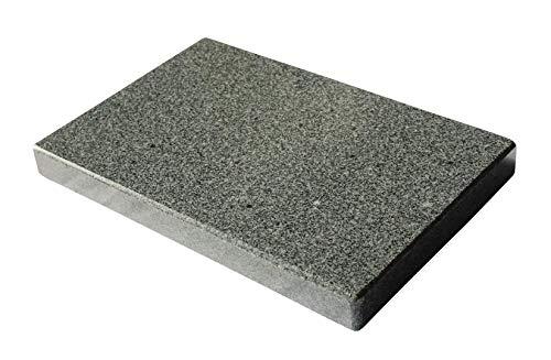 MW Naturstein Piedra de Granito Barbacoa Rectangular para el Cuadrada Barbacoa–30x 20x...