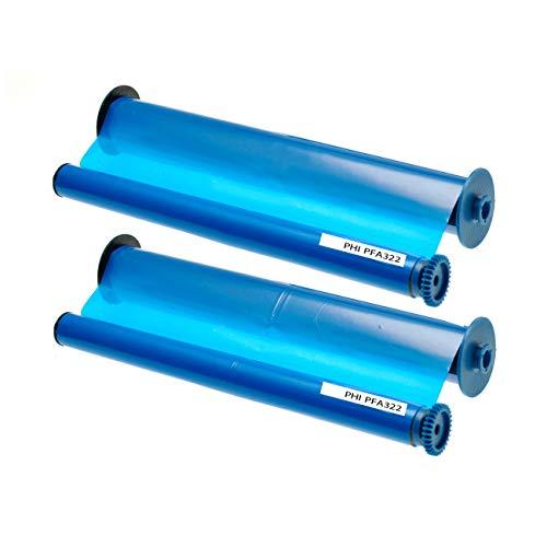 ASC-Marken-Faxrolle für Philips PFA-321 / PFA-322/906115306011 (2 Stk.) kompatibel