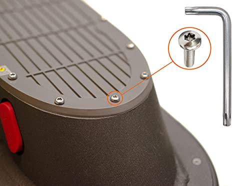 M365Lyon, 21 tornillos de tapa de batería de acero inoxidable para patinete eléctrico Xiaomi Mijia M365 Pro2 Essential Pro 1S
