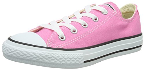 Converse Clothing & Apparel Chuck Taylor All Star Low Top Kids Sneaker, Pink, 33
