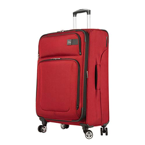Skyway Sigma 6.0 Lightweight Luggage Collection (True Red, 25-Inch Spinner)