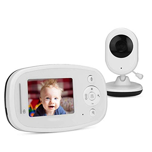 HYLH Wireless Video Babyphone mit Digitalkamera, Nachtsicht Temperaturuuml;berwachung 2 Way Talkback System,Mit Musik, Pixel: 1.3 Million (960P)