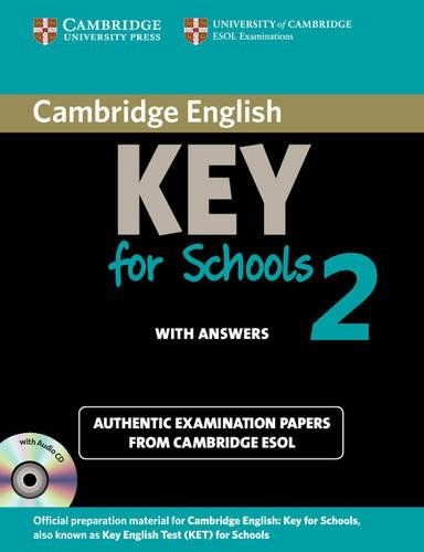 Cambridge English Key for Schools 2 Self-study Pack (Student (Ket Practice Tests)