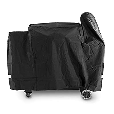 Utheer Grill Cover Waterproof for Pit Boss Rancher XL, Austin XL, 1000S, 1000SC, 1100 Pro Wood Pellet Grill, Heavy Duty Fabric Barbeque BBQ UV Protection 600D Grill Covers