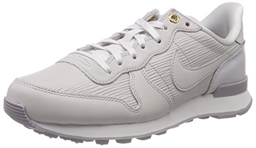 Nike Damen W Internationalist PRM Sneaker, Grau (Vast Grey/Summit White/Atmosphere Grey/Vast Grey 013), 39 EU