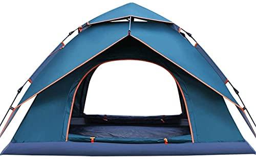 SHWYSHOP Carpas para Acampar Camping Juego de Senderismo Ligero Carpa para Pesca con Mochila al Aire Libre (Color: Azul, Talla: Talla única)