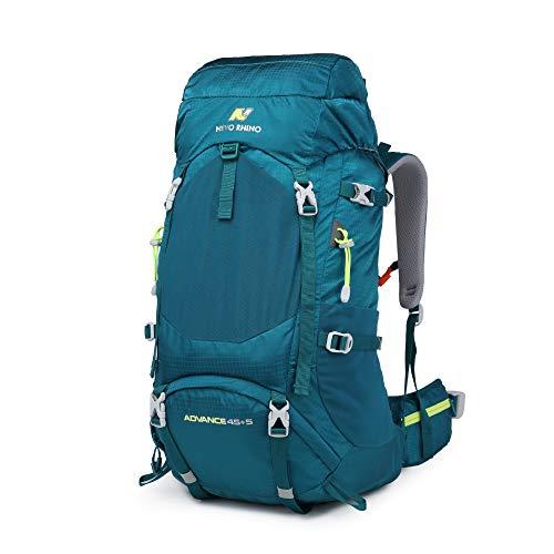 YUIOP Mochila 50L De Gran Capacidad De Senderismo Impermeable Bolsa De Alpinismo Profesional Equipo Al Aire Libre Mochila Deportiva