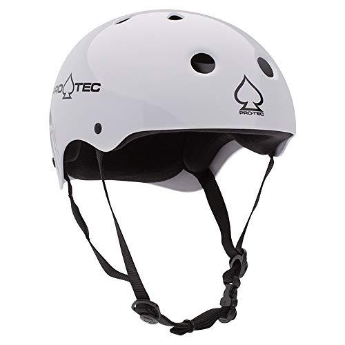 Pro-Tec Classic Skate, Gloss White, XL