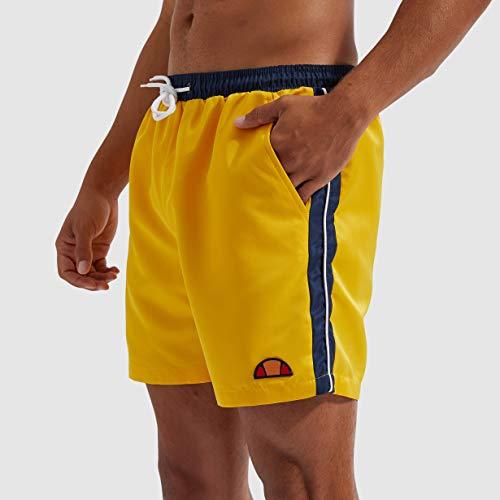 Ellesse Genoa Bañador, Hombre, Yellow, S