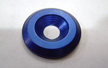 SOURCING MAP sourcingmap/® M5 Arandea cabeza de copa de aleaci/ón de aluminio de parachoques de guardabarros de compartimento de motor Azul real 15pcs