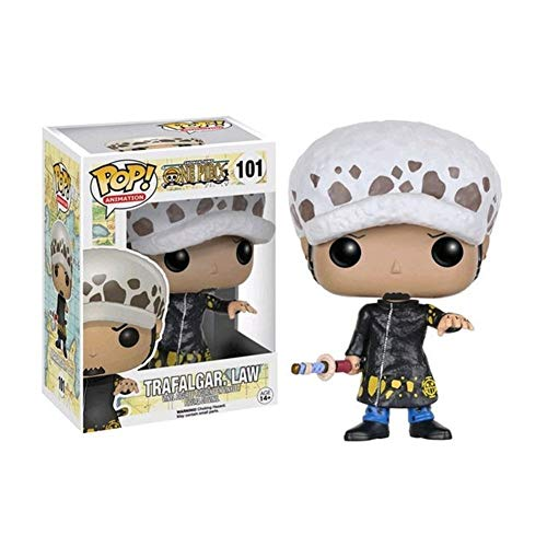 WWZL Anime One Piece Trafalgar Law Figure Pop PVC Statue / 10CM
