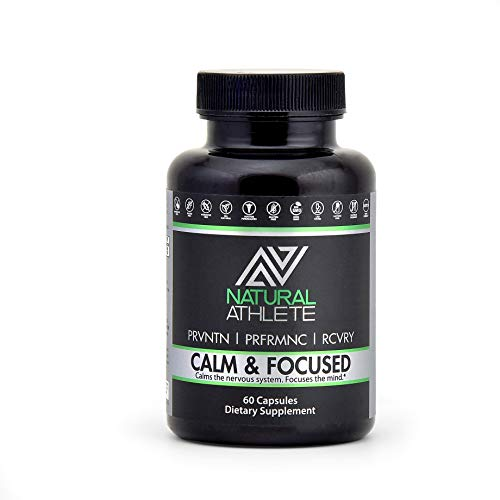 Natural Brain Booster Supplement | Supports Memory, Focus, Calm Mood, Clarity & Healthy Cortisol Levels | Nootropic Formula for Men & Women (60 Pills)