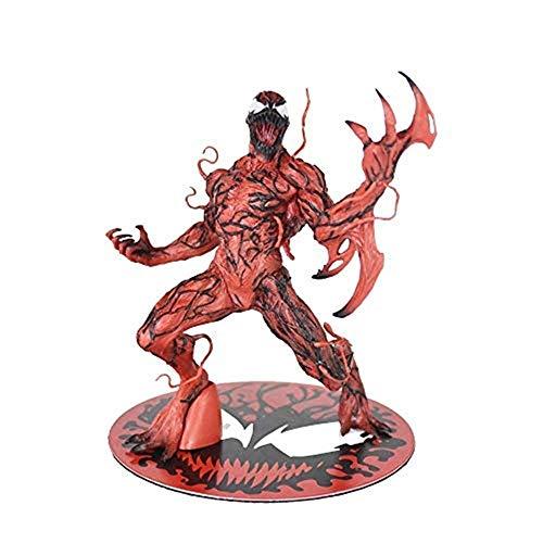 FHMHJH Juguetes de Modelo de Matanza, Personajes cómicos de Anime Marvel Choice - Mapa de acción de coleccionista Especial Anti Veneno, Marvel Super Devil Hero Venom