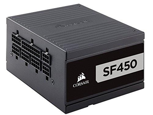Corsair SF Series, SF450, 450 Watt, SFX, 80+ Platinum Certified, Fully Modular Power Supply (CP-9020181-NA)