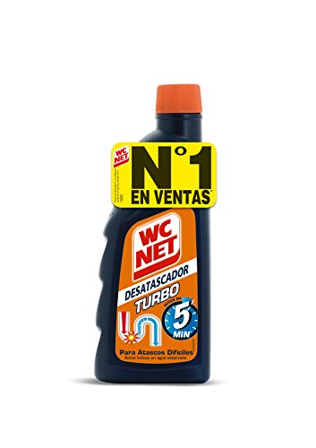 Wc Net Turbo Desatascador - 500 ml, Multicolor