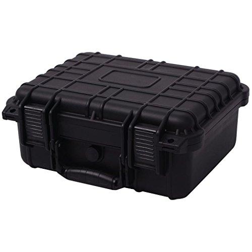 vidaXL Universalkoffer mit Schaum Kamera Objektiv Schutz Koffer 35x29,5x15 cm