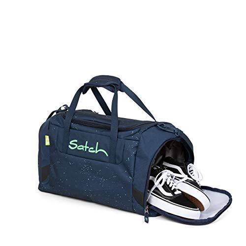 Satch Sporttasche Hurly Pearly, 25l, Schuhfach, gepolsterte Schultergurte, Blau