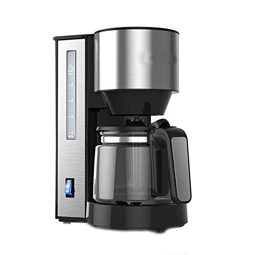 NCBH Fashion Nieuwe RVS Materiaal Slijpen Thuis Automatische Amerikaanse Koffiemachine Multi-Functie Druppvorm 1.25l Koffiepot