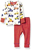 Hatley Organic Cotton Pyjama Sets Juego de Pijama, Animales de Carreras, 12-18 Meses para Bebés