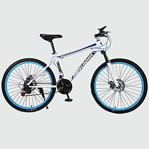 Bicicleta Montaña MTB Montaña de la bici adulta de 26 pulgadas bicicleta de doble suspensión de doble freno de disco de uno de los estudiantes de absorción de choque de 21 velocidades Bicicleta de Mon