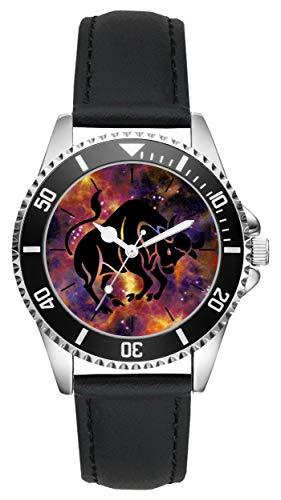 Geschenk für Stier Horoskop Sternzeichen Uhr L-6172