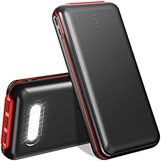 モバイルバッテリー 大容量 30000mAh 急速充電 4台同時充電可能 22.5W PD3.0対応 4個LEDライト付き MicroとType-C入力ポート PSE認証済 MacBook Pro/Dell XPS/iPad Pro/iPhon...