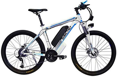 Fangfang Bicicletas Eléctricas, Montaña Bicicleta eléctrica 26 '' E-Bici for Adultos 350W 48V 10AH extraíble de Iones de Litio de 21 Nivel Shift Asistida y Modos de Trabajo de Tres,Bicicleta